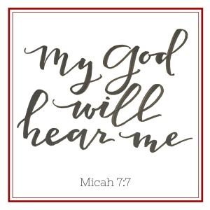 Micah 7-7