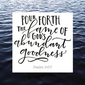 Psalm 145-7