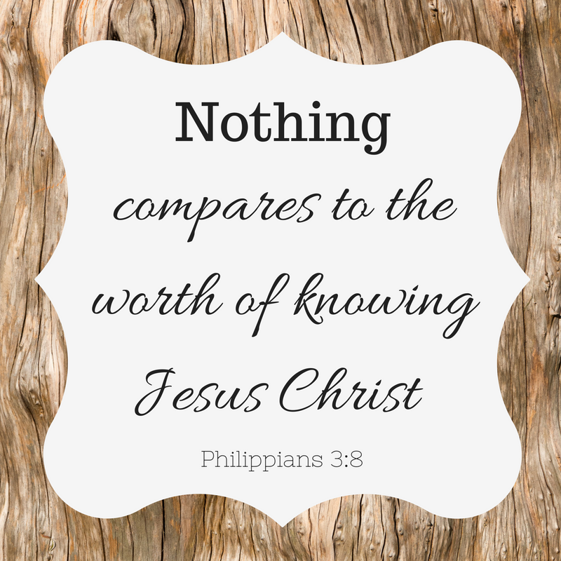 Nothing Compares to Knowing Christ {No Matter What Monday} - Marissa Henley
